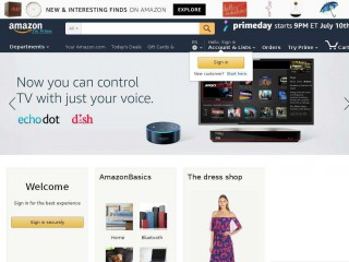 amazon.com screenshot