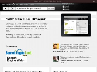 browseo.net screenshot