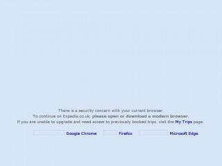 expedia.co.uk screenshot
