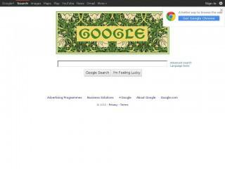 google.co.uk screenshot