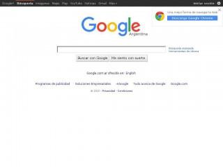 google.com.ar screenshot