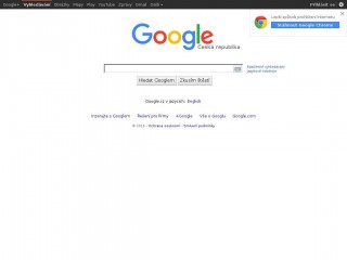 google.cz screenshot
