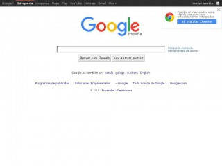 google.es screenshot