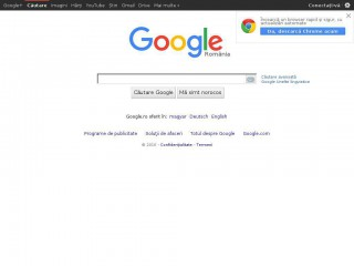 google.ro screenshot