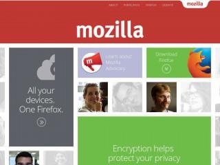 mozilla.org screenshot