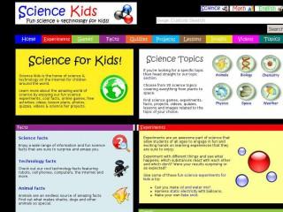 sciencekids.co.nz screenshot