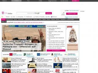 t-online.de screenshot