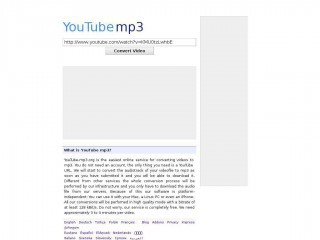 youtube-mp3.org screenshot